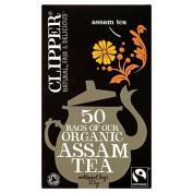 Clipper Fairtrade Organic Speciality Assam Tea Bags 50 per pack