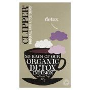 Clipper Tea Organic Detox Infusion 20 per pack