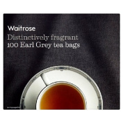 Earl Grey Tea Bags Waitrose 100 per pack
