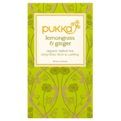 Pukka Lemongrass & Ginger Tea 20 per pack
