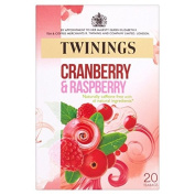 Twinings Fresh & Fruity Cranberry & Raspberry Tea Bags 20 per pack