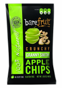 Bare Fruit Natural Granny Smith Apple Chips Gluten Free + Baked 50ml Bags - Pack Of 10