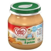 Baby Balance Creamy Carrot & Potato Jar 125gx 6