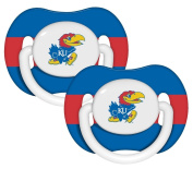 Kansas Jayhawks Pacifier - 2 Pack