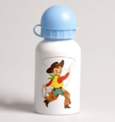 Indians and Cowboys Retro Water Bottle 300 ml