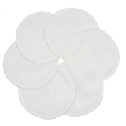 Imse Vimse Stay Dry Washable Nursing Pads Pack of 3 Pairs White