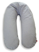 Ideenreich 2048 Breastfeeding Pillow Cover Striped Blue/White