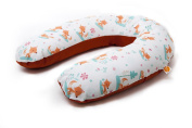 Millemarille Sweet Foxes Nursing Pillow Flat-Less 175 cm