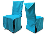 PANAMA Chair Cover Recycled Cotton Blue