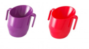Doidy Cup Bundle - PURPLE & RED - 2 Cups Supplied