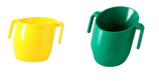 Doidy Cup Bundle - Green & Yellow - 2 Cups Supplied