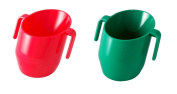 Doidy Cup Bundle - RED & GREEN - 2 Cups Supplied