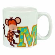 Little Rhymes - Alphabet - Child's Mug Letter M
