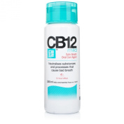 CB12 250ml bottle 4 Pack Mild Mint Safe Breath Mouthwash