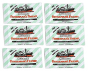 FISHERMAN'S FRIEND MINT Sugar Free Lozenges 6 x 25g FREE UK DELIVERY