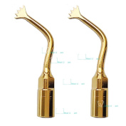 2pcs MUW® Dental Scaling Bone Surgery Tip Mectron Style US1-6 Compatible with Mectron