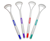 Tongue Scraper Cleaner x 2 ~ Choice of 4 Colours ~ Oral Dental Care