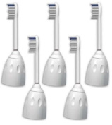 5 Pack Brush Heads For Philips Sonicare Toothbrush e Series/Elite Replacement