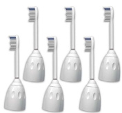 6 Pack Toothbrush Heads Compatible with Philips Sonicare Toothbrush e Series/Elite Replacement