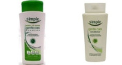 Simple Shampoo Gentle Care 200mls and Simple Conditioner Gentle Care 200mls