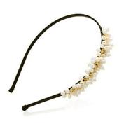 Sweet Women Charm Pearl Hair Hoop Band Headband
