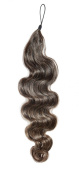 American Dream Human Hair Soft Wave Addition, Ombre Natural Black/ Chestnut Brown Number 1B4 18-inch/ 46 cm