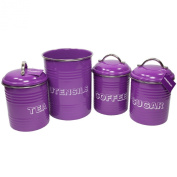 purple kitchen canister sets 3 piece kitchen canister storage stainless steel jars in