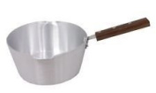 Majestic Chef 22cm Aluminium Milk Pan Milk Pot No.499 2.LTR Heavy Duty