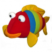 Springy Animal Mobile - Goldfish a bright stripey bouncy fun friend