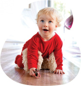 Babymop - your toddler helps cleaning the house. Great combo