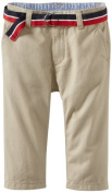 Tommy Hilfiger Baby-Boys Infant Charlie Pant, Travel Khaki, 12 Months Colour