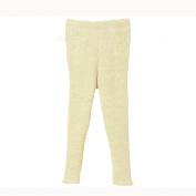 Disana Knitted Baby Leggings/Trousers in Organic Merino Wool Natural 50/56 0-3m