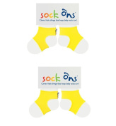 Sock Ons 0-6 Months - TWIN PACK (Various Colours) Gift Wrap Available!