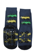 "Weri Spezials High ABS Terry Socks, dark Blue, ""Cars""."