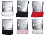 Baby Tights Plain Knitted Cotton Rich Newborn 0-6m 6-12m 1-2 years 7 Plain Colours and 5 Patterns styles