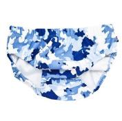 Australian UPF50+ Baby Boy's Swim Nappy size Medium (approx 6-12 months - approx 8-10kg) Blue Camouflage