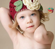 Amasale Baby Crochet Beanie Handmade Baby Gril Winter Knit Hat