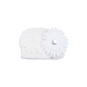 Sanwood Baby Girls Toddler Crochet Beanie Hat with Flower Clip