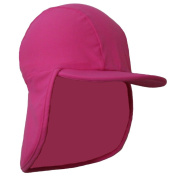 Baby Girls Pink UV Sun Protection Legionnaire Cap UPF50+ 0-24 months