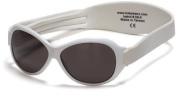 Kidz Banz Retro Banz Oval Kidz Sunglasses, Arctic White