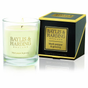 Baylis & Harding Black Pepper and Ginseng 1 Wick Candle