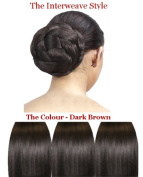Forever Young Premium Clip In Bun Hairpiece Interweave Dome Construct- Glamorous Style in an Instant - Colour