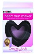 Scunci Heart Bun Maker