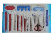 Nail Care Personal Manicure Pedicure Set Grooming Kit Clipper