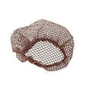 Roller Sleep In Hair Net x 2 Brown