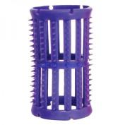 SKELOX Plastic Hair Rollers/ Curlers 12 x 36mm Lilac + Free Pins!