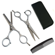 Jazooli 15cm Hair Cutting Barber Salon Hairdressing Thinning Scissors Shears Kit With Comb