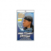 WAVE BUILDER Wave Activating Du-Rag BLACK (Model