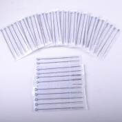 100pcs Mixed Disposable Stainless Tattoo Needles 3RL/5RL/7RL/9RL/5RS/7RS/9RS/5M1