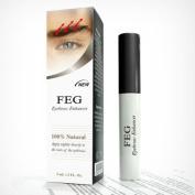FEG Eyebrow Eye Brow Growth Length Thickness Darkness Enhancer Serum 100% Natural